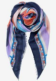 Becksondergaard Asak Scarf Blue Night