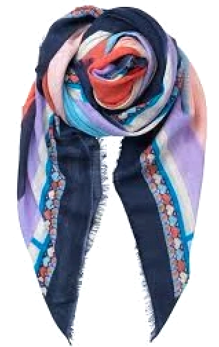Becksöndergaard Asak Scarf Blue Night