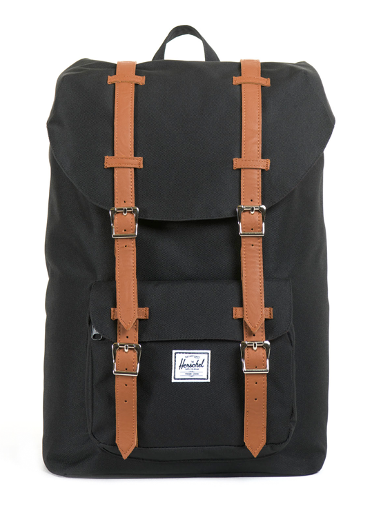 Herschel Little America Mid Volume Black 17 L