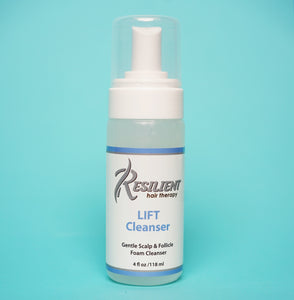 Resilient LIFT Cleanser: Gentle Scalp & Follicle Foam Cleanser 4 oz