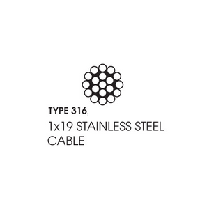 "T316 Stainless Steel Acorn Cap Nuts, 1/4""-20 TPI (Quantity Of 100)"