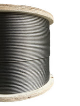 "Load image into Gallery viewer, 1/8"" Stainless Steel Cable 1×19 Strand for Cable Rail - 500"" Feet"