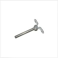 "Load image into Gallery viewer, Deck Toggle For Cable Railing - For 3/16"" Cable - Type 316 Stainless Steel"