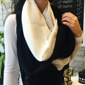 Two Tone Wingtip Scarf