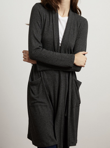 Carrie Belted Ribbed Cardigan - The 889 Shop