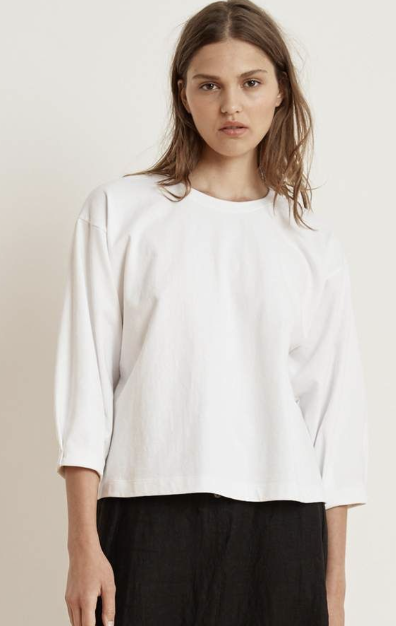 Structured Pullover Top
