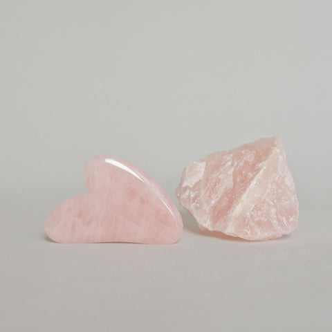 Gua Sha Rose Quartz Tool