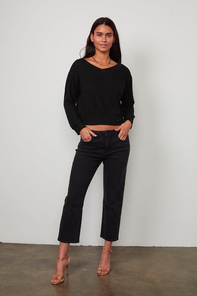Sloe Cropped Sweater