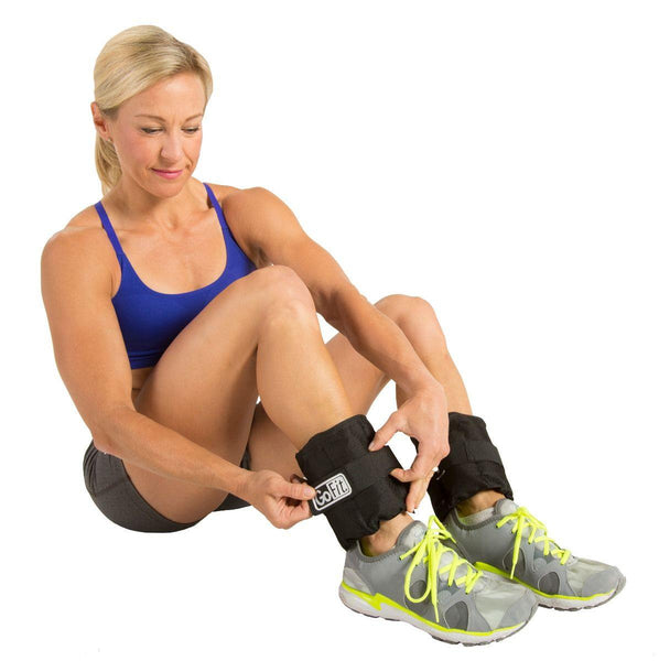 Adjustable ankle weights (5LB PAIR)