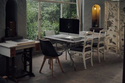Converting dining area to home office alternative