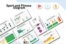 Fitness and Sports Diagrams