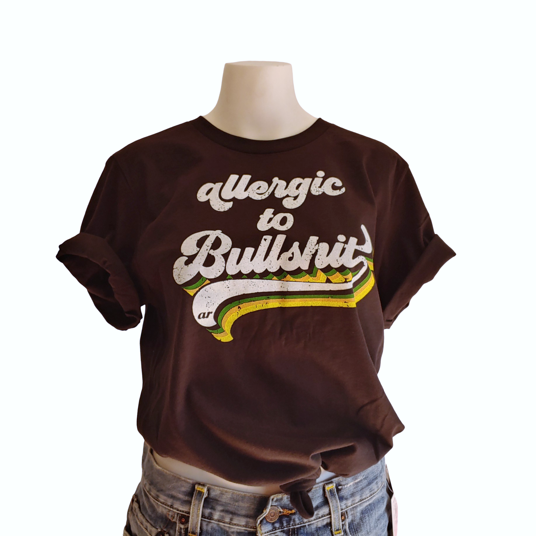 Allergic to Bullshit T Shirt