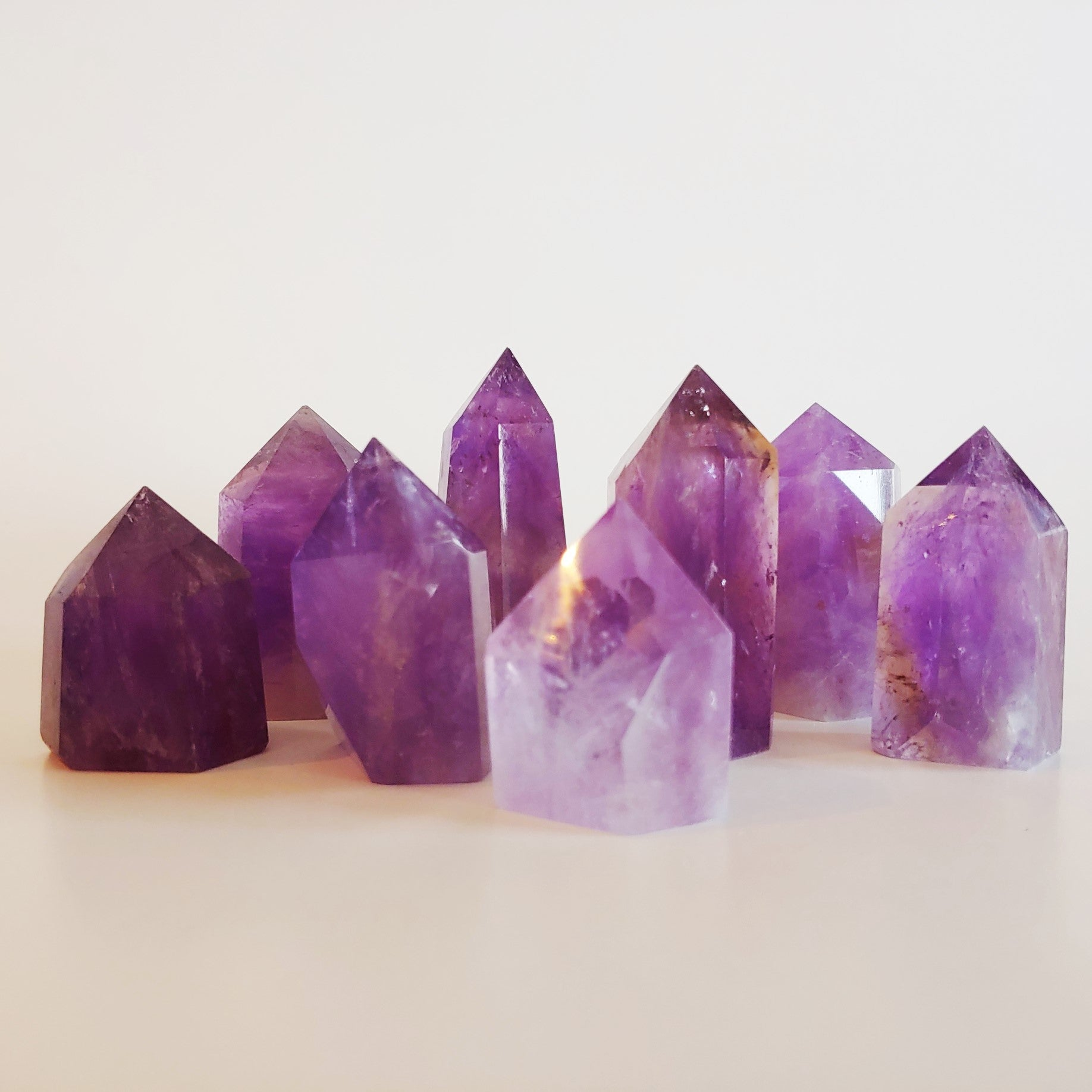 Polished Amethyst Tower