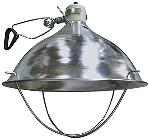 Deluxe brooder lamp light fixture