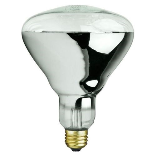 250 watt Infrared CLEAR heat lamp light bulb