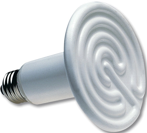 White 250 Watt ceramic emitter heater bulb
