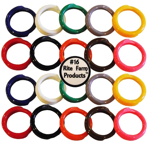 20 leg bands in 10 different colors