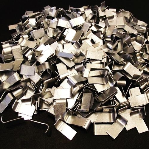 5 pounds of galvanized wire cage J-Clips