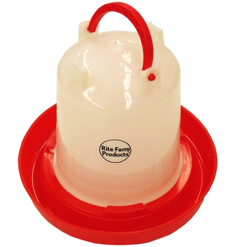 Small Rite Farm Products 1 Quart Chicken Waterer