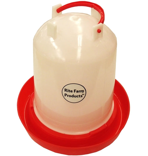 Medium Rite Farm Products 1.6 Gallon Chicken Waterer