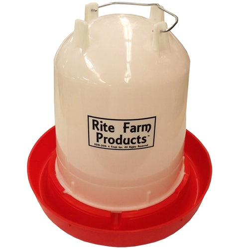 Large Rite Farm Products 2.65 Gallon Chicken Waterer