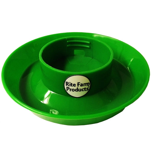 Rite Farm Products Green Chick Waterer & Quart Jar