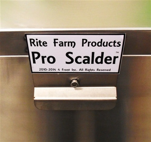 18.5Gal 120V 2,000W S.S. Pro Poultry Scalder Chicken