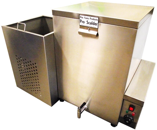 32Gal 240V 5000W S.S. Pro Poultry Scalder Chicken