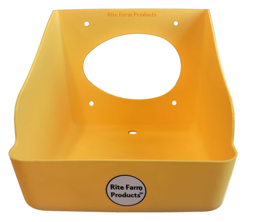 6 Pack Of Poly Nesting Boxes For Chicken And Poultry Egg Laying