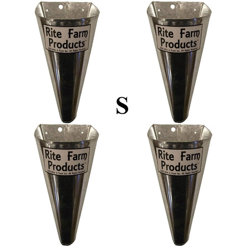 4 Pack of Small restraining processing killing cones poultry chicken quail kill
