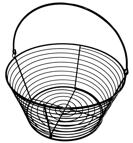 Rite Farm Products 13 Inch wire chicken egg basket