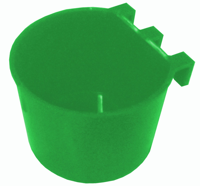 8oz Cage Cup Round Feeder or Water Drinker, Treats