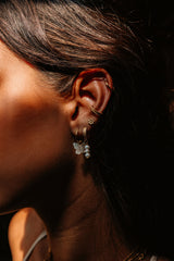Fishbone Ear Cuff - Gold