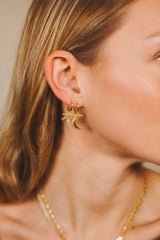 Firefly Hoops Earrings - Gold