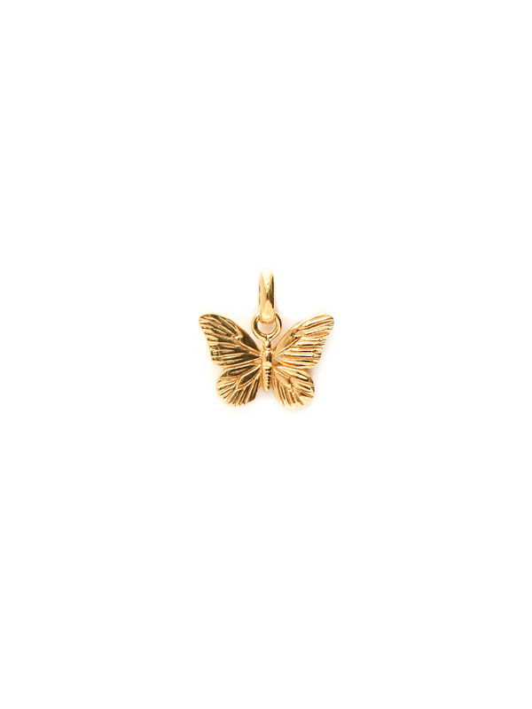 Butterfly Pendant - Gold