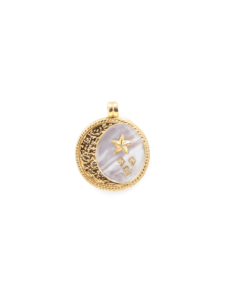 Mood - 2-in-1 Pendant - Gold