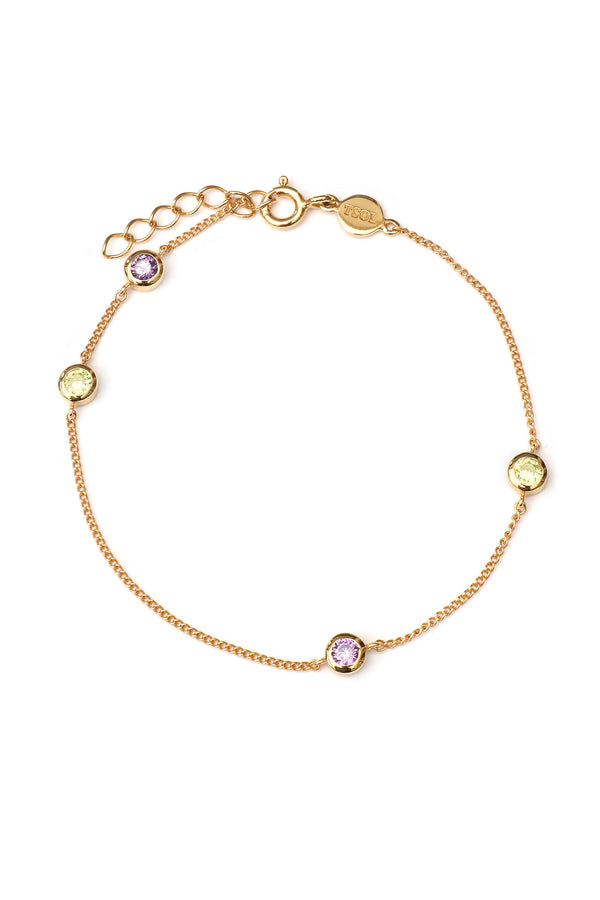 Dew Drops Amazon Armband - Goud