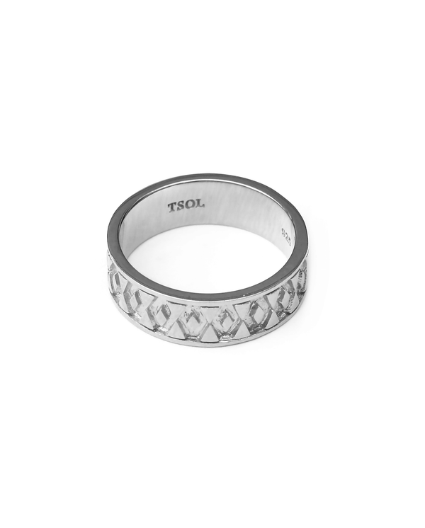 hexagon-ring-zilver
