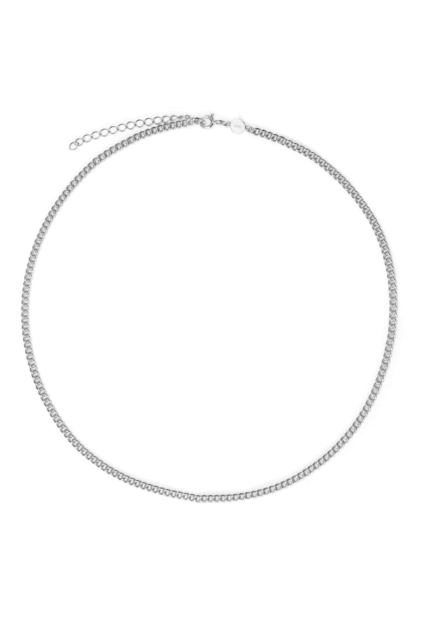 ketting-curb-chain-zilver