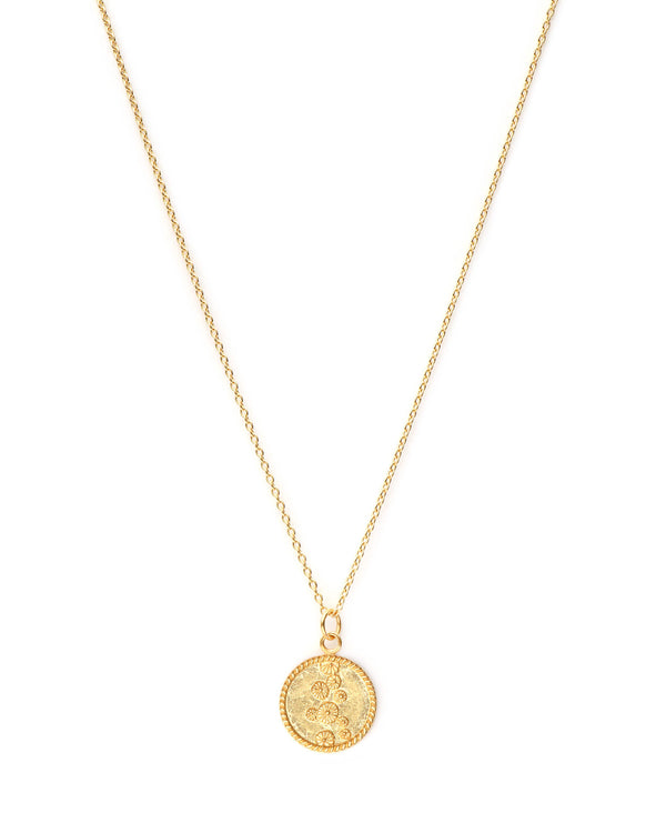 Lily Pad Coin Ketting - Goud