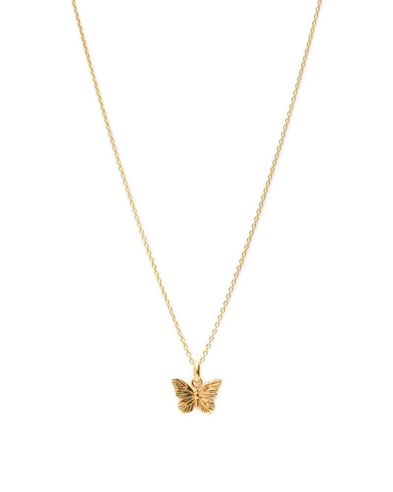 Butterfly Ketting - Goud