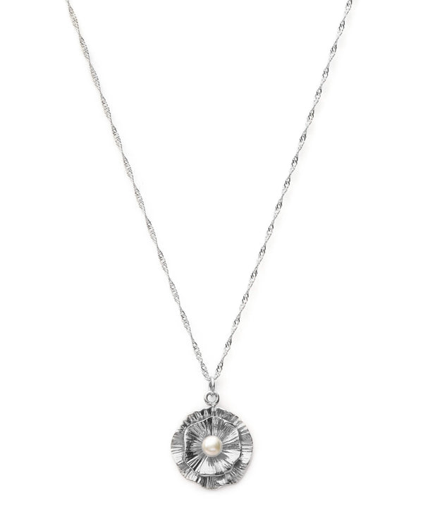 Lily Pad Ketting - Zilver