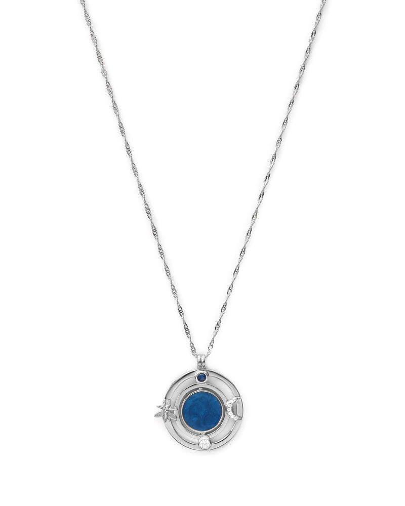 2-in-1 Nightfall Pendant - Silver