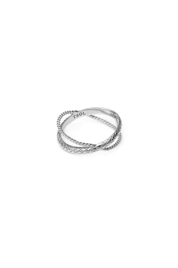 Serpent Ring - Zilver