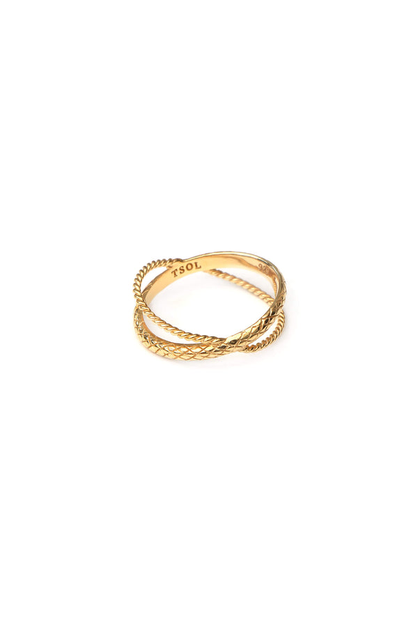Serpent Ring - Goud