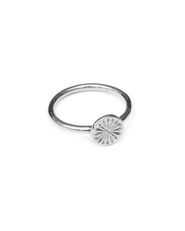 sun-rays-ring-zilver