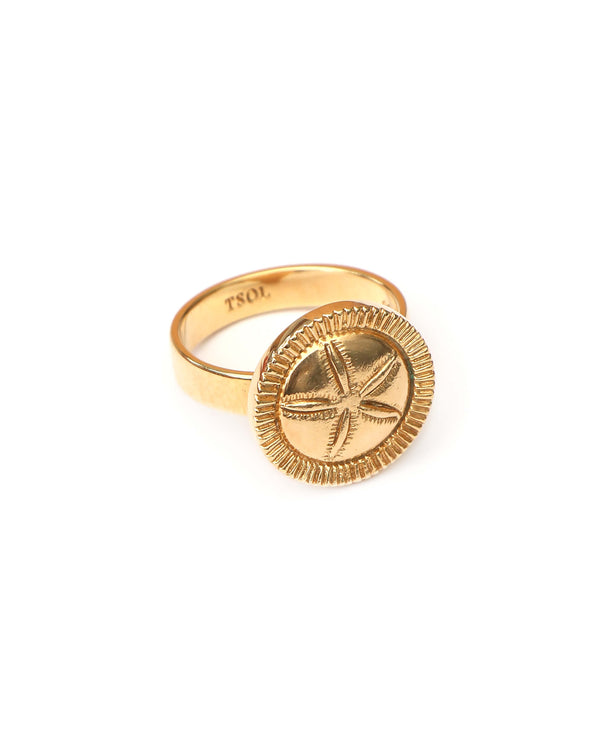 zegelring-ring-sand-dollar-goud