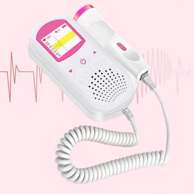 Baby Heart Beat Rate Monitor Fhr Lcd Probe Pregnancy Fetus Pregnancy And Infant Care High Quality Pocket Fetal Instrument