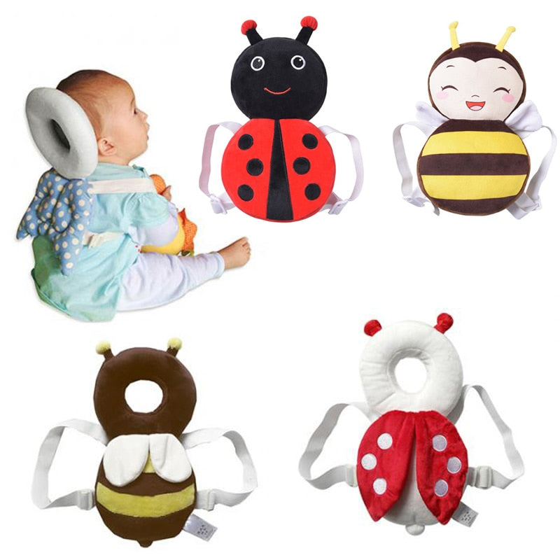 Cute Baby Newborn Head & Back Protection Pillow Toddler Wings Drop Resistance