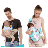 Women Mens Single Shoulder Infant Baby Sling Wrap Carrier Backpack Toddle Baby Travel Warp Sling Carrier Hipseat 0~36M Free Ship